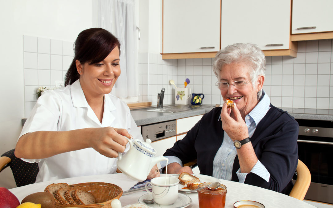 Senior In-Home Care Benefits, elderly, family home, health care
